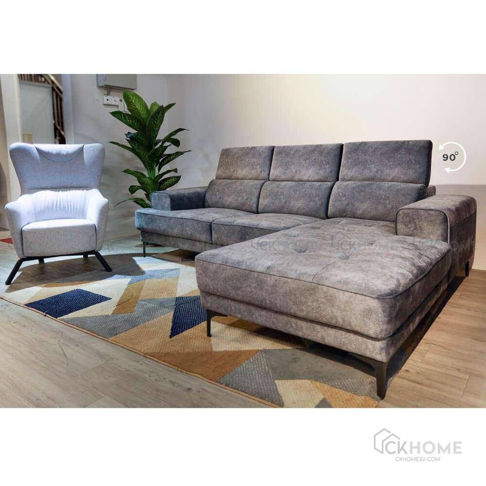 Hollywood Adjustable Headrest Sofa   CKHOME2U